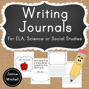 My Writing Journal-For Early Elementary