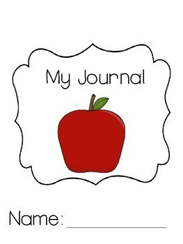 My Writing Journal for Language Arts, Science or Social Studies K to 3