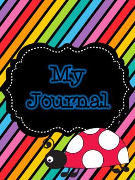 My Journal-Spring Ladybugs Theme