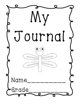 My Journal Title Page Freebie