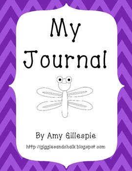 My Journal Title Page Freebie