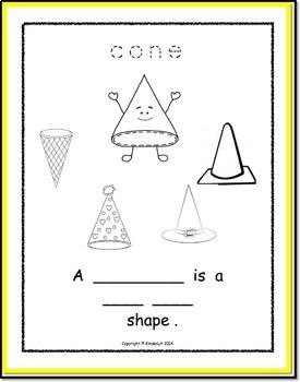 My Math Journal of 3D Shapes