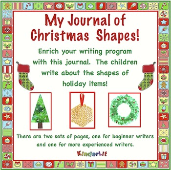My Journal of Christmas Shapes