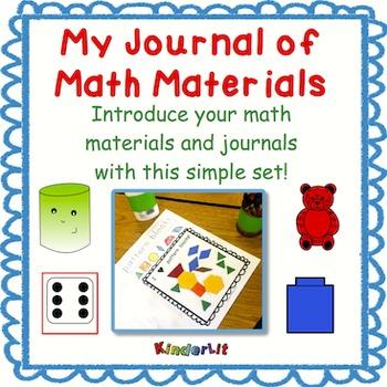 My Journal of Math Materials