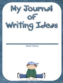 My Journal of Writing Ideas for Students