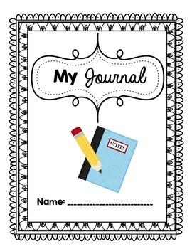 My Journal workbook