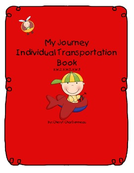 My Journey Individual Transportation Book
