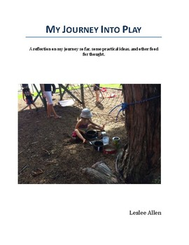 My Journey Into Play - My 2nd Reflection On Play