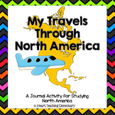 My Journey Through North America-Journal Activity