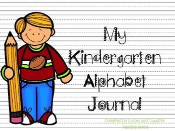 My Kindergarten Alphabet Journal
