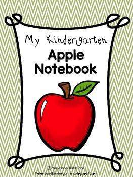 My Kindergarten Apple Notebook
