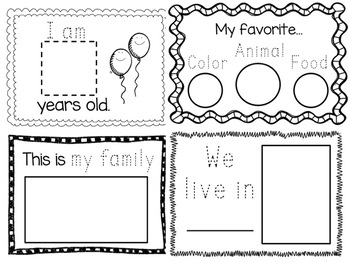 My Kindergarten Book