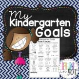 My Kindergarten Goals with Common Core Skills!
