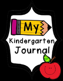 My {Kindergarten} Journal