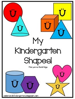 My Kindergarten Shapes by Colors and Kindergarten | Teachers Pay ...