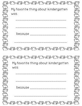 My Kindergarten Story (Memory Book)