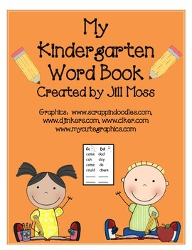 My Kindergarten Word Book/Dictionary