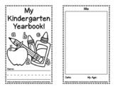 My Kindergarten Yearbook