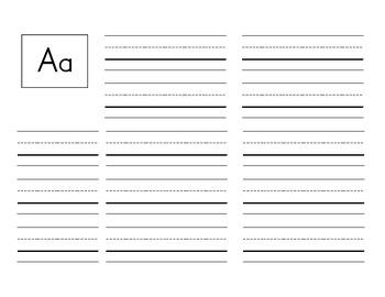 Kindergarten sight words booklet