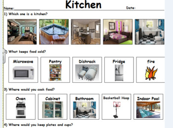 My Kitchen: A Functional Unit to Enhance Understanding Homes