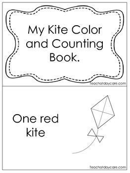 My Kite Color and Counting Early Emergent Reader. Pre-k, KDG. Reading.