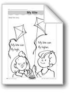 My Kite (letter/sound association for 'k')