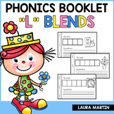 Interactive Phonics Booklet-L Blends