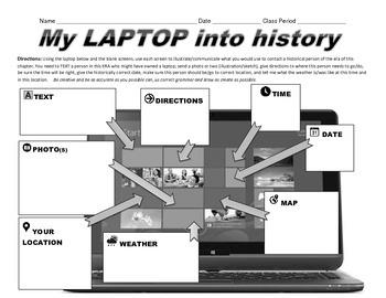 My LAPTOP into history