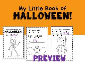 My Little Book Of Halloween