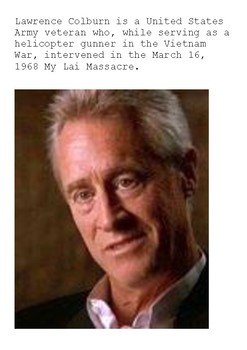 My Lai Massacre Word Search