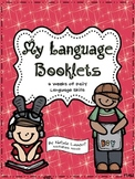 My Language Booklets {6 Weeks of Daily Language Skills}