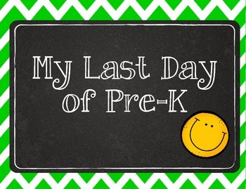 My Last Day Student Printables