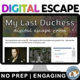 My Last Duchess Digital Lock Box Escape Room Game