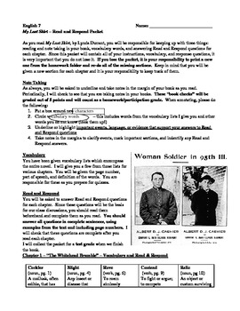 Read and Respond Questions and Novel Study - Chapters 1-4 - My Last Skirt