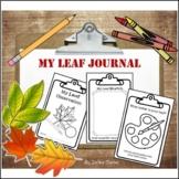 My Leaf Journal (Science Notebook)