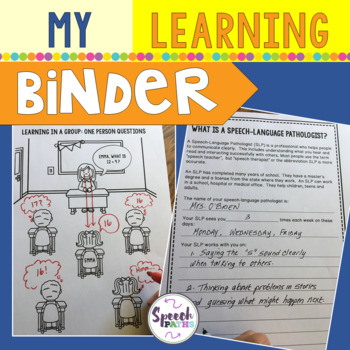 My Learning Binder