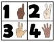My Learning Numbers Workbook with ASL Signs and Playdough Mats