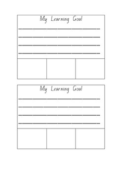 My Learning Goal