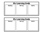My Learning Goals