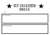 My Learning Goals- Take Home Sheet