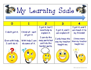 My Learning Scale