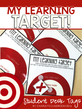 My Learning Target!   Students Rate Their Learning