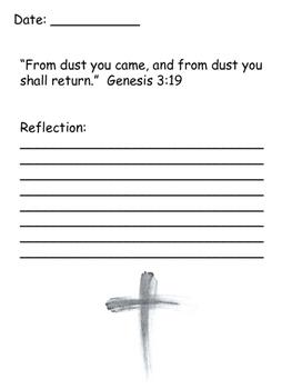 My Lent Journal