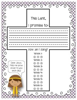 Lent:  My Lenten Promise