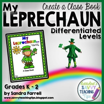 St Patrick's Day Class Book