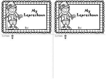 My Leprechaun Flip Book