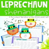 St. Patrick's Day Expository Writing Leprechaun Craft