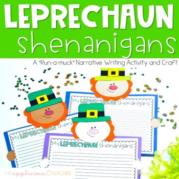 Leprechaun Writing St. Patrick's Day Writing Activity Craft