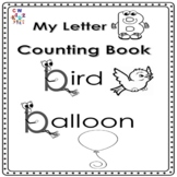 Letter 'B' Alphabet Counting Book