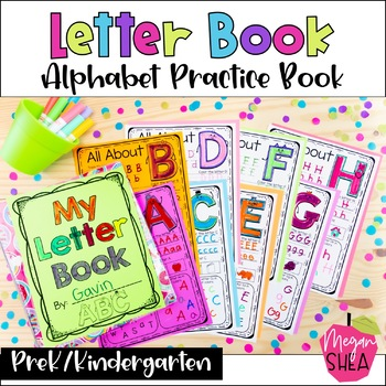 My Letter Book. Alphabet Practice Book